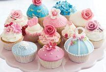 Cupcakes / Cupcakes in alle soorten, maten en kleuren...