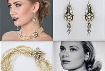 Bridal Accessories / How to accessorize for your wedding day.  The right accessories complete your look for your day. Here are some ideas for the right jewelry, shoes, clutches, and headpieces we love!
