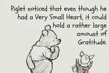Gratitude Quotes / Gratitude - Quotes - Motivation - Self