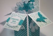 pop up box cards inspiration