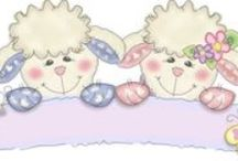 Cuddly Buddly Loveable lambs / .