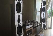 Stellar12 Open Baffle Speakers by PureAudioProject