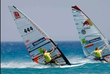 Windsurfing / Famous for its intensive winds, Andros island of Cyclades is ideal for windsurfers.