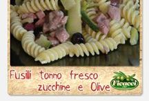 Primi piatti con le olive - - - First courses with olives