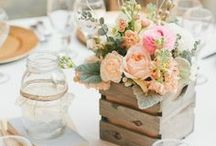 Theme - Rustic Charm / Wooden and chic providing a comfortable atmosphere