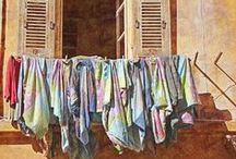Varais/washing line/clothes spins / Life style/ varais pelo mundo / by Elizabeth Kasper