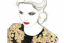 Fashion drawing/ilustrations