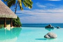 Travel to amazing dream places and beaches / by Saada Moussalli