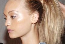 Fresh & Glowing Beauty. / Natural and radiant makeup. A focus on the skin.