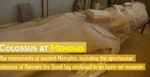 Memphis / This board aggregates pins of interest for Egypt's Memphis archaeological site, also called Mit-Rahina, or Men-Nefer. The location is the site of the contemporary open-air museum, housing the Colossus of pharaoh Ramses the Great.
