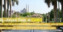 Al-Azhar Park / Al-Azhar Park - Al-Azhar is an oasis of green right in the heart of #Cairo, the perfect place to relax after a long day in the heat and sand of #Egypt's many #monuments. This #park stands as contemporary Cairo's premier attraction, and is a marvel of #landscape engineering. http://www.egyptiansidekick.com/al-azhar-park/ #EgyptTravel #EgyptTour #EgyptTourism #Gardening #LandscapeEngineering #RTW #TTOT #EgyptianSidekick #Travel #AgaKhan