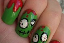 Halloween-y Nails / Looking for some Halloween pizzazz in your manicure routine? Look no further than this board for inspiration this Halloween!! #halloween #nails #cutemanis #cutepedis Get your Halloween cuteness on!!!  / by Younique Mascara by Kristen