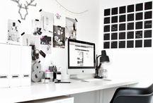 O F F I C E / Freelance office inspo!