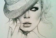 pencil drawings <3