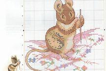 Beatrix Potter - punto croce