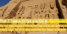 Abu Simbel Temples / This board aggregates pins from the two temples at Abu Simbel, dedicated to Ramses the Great and his Great Royal Wife, Nefertari.