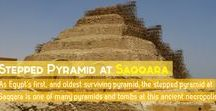 Saqqara Stepped Pyramid / This board aggregates pins related to the stepped pyramid at Saqqara in Lower Egypt.
