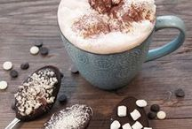 Food ~ Drinks / Smoothies, homemade hot chocolate and other non-alcoholic drink ideas.