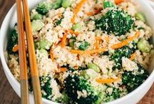 Cauliflower Rice Recipes / Make delicious, easy, and healthy meals out of cauliflower, you'll never want to eat real rice or couscous again!