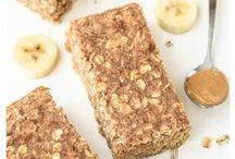 Healthy Snacks / Healthy snack ideas that will give you that much-needed boost!
