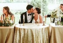 Gilt Glamour / glittery gold can elevate any & all wedding themes, whether you're a boho bride or prefer a more traditional look. when used the right way, gold can be a beautiful and timeless addition to your big day.
