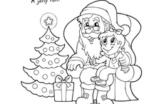 Christmas Coloring Pages / by Letters from Santa
