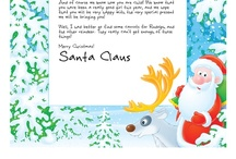 Letters From Santa Santalove On