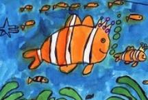 art colloring and drawing / Leuke tekenlessen en kleurplaten voor kleine en grote mensen.
