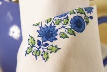 Indian Print Bedding /  Hand Block Printed Indian Bedding