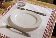 French Country Placemats /  French Country Placemats - Luxury Table Linens