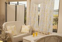 French Country Drapes / French Country Drapes - Beautiful Curtains - Hand Block Printed Curtains from India