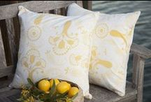 Decorative Throws / French Country Pillows - Decorative Pillow Case Covers - Decorative Throws