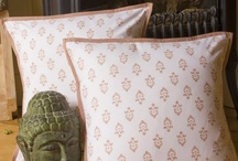 Decorative Pillow Case Covers / Decorative Pillow Case Covers - Country Decorating Ideas - Block Printed Textiles