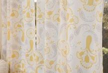 French Country Living  / Block Printed Bedding - Luxury Bed Linens - French Country Living