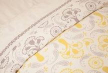 French Country Living Room  / Indian Cotton Bedding - Country Style Decor - French Country Living Room