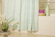 Aqua Shower Curtain / Shower Curtain Beach Theme - Aqua Shower Curtain - Country Living Curtains