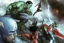 Marvel Heroes / by Sherif Fahmy