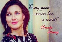 "Quotes / ""Every good women has a secret."" Brenda Strong"