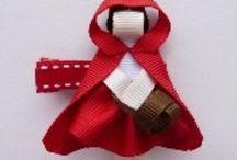 Hair clips, bows, ribbons...