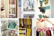 A Place for Everything / Organizing and storage ideas and tips. / by linda musser