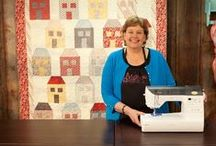 Patchwork and quilting Ateliers. Artesanas de patchwork y quilts / My favourites ateliers: Jenny Doan for Missouri Star Quilt Company, Ana Consentino, Wendy Graz for Shinny Happy World and Fons and Porter (By now...) Mis artesanas favoritas: Jenny Doan de M.S.Q.C.(inglés), Ana Consentino (portugués), Wendy Graz de Shinny Happy World (inglés) y Fons and Porter (inglés)