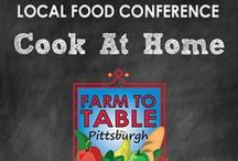 2015 Farm to Table Pittsburgh Conference / Our Annual 2-day educational conference focuses on connecting consumers with local food producers in the Western Pennsylvania region.