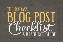 Best Blogging Tips / Get started blogging! The best blogging tips, tricks, and resources.  {Blogging} {Social Media} {Content Marketing} {Social Media Strategy}