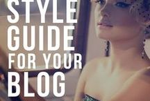 Blogging Tips, Tools and Templates / About blogging for everyone. How to find your niche? Style guides for your blog.