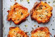 Süßkartoffel Rezepte / Hier findest du Rezept rund um die leckere, orange farbene Süßkartoffel. Süßkartoffeln sind vielseitig einsetzbar in Tartes, Quiches, als Ofengemüse oder in Kuchen. Hast du sie schon einmal probiert?
