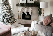 Christmas / christmas // decorations // santa // snow // presents // christmas tree // baubles // angel