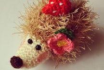 Crochet&Amigurumi&Knit&Lace(örgü&tığişi) / Crochet,tığişi,örgü,knit,dantel,lace / by Semra Bayrak