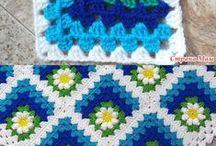 Afghans Crocheted / by Juanita Brush