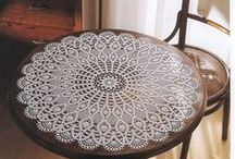 Delightful Doilies Crocheted / by Juanita Brush
