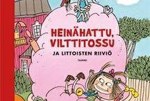 Heinähattu ja Vilttitossu / Heinähattu ja Vilttitossu juhlivat 25-vuotisjuhlaansa. Tervetuloa kakkukesteille!